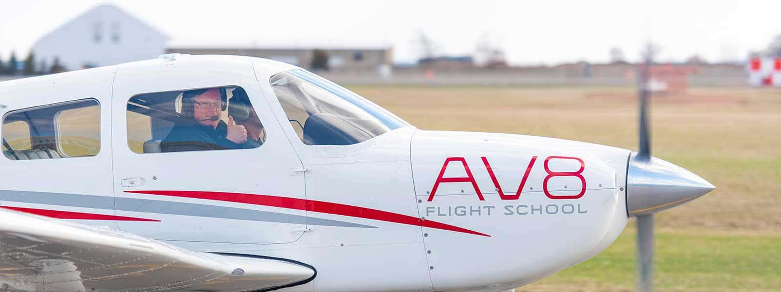 AV8 aircraft