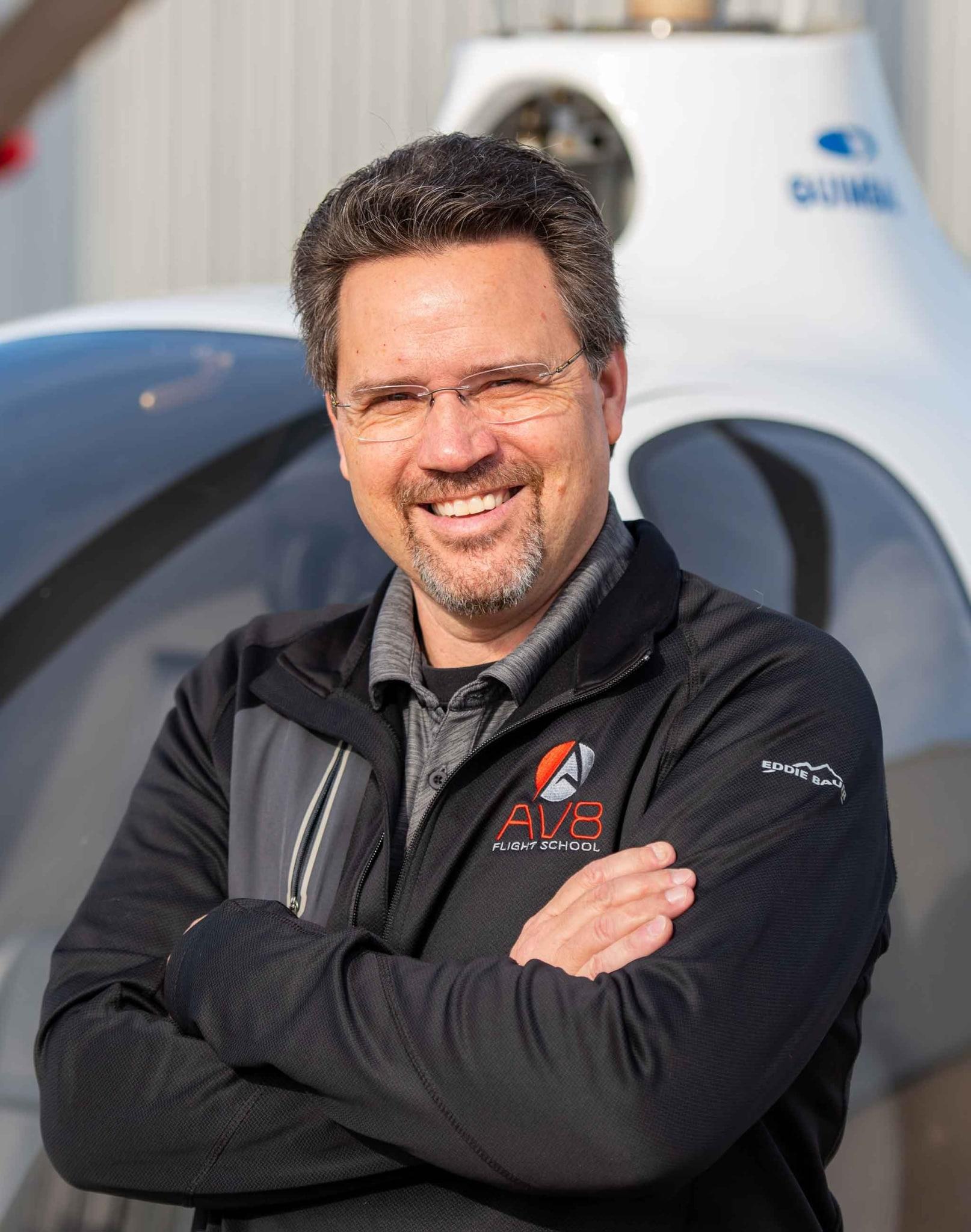 AV8 Flight School Team: George