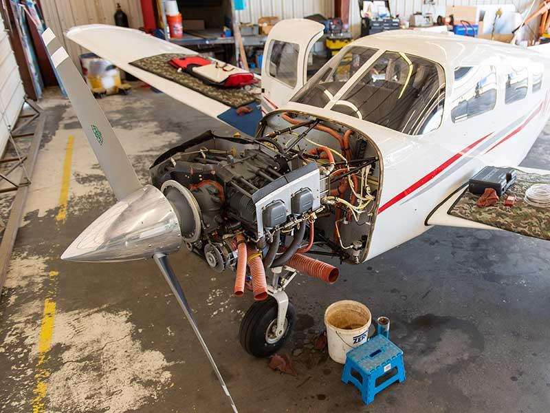 Aviation Maintenance, shop