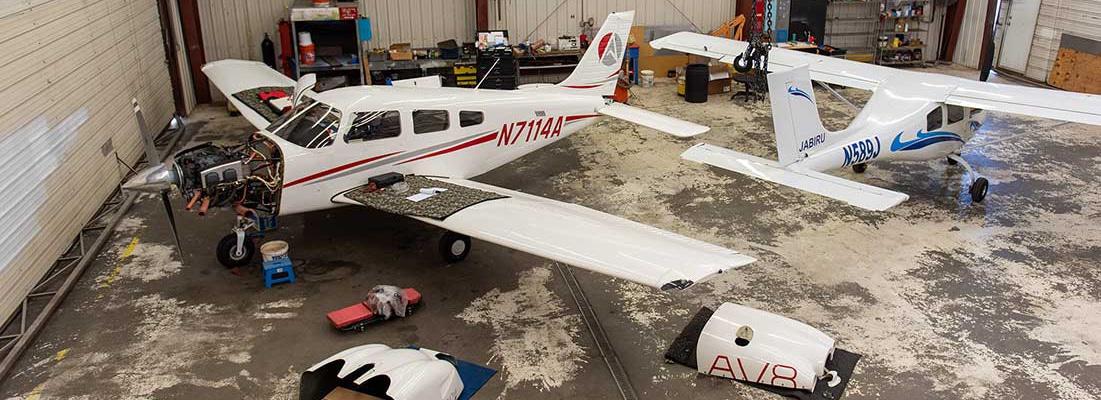 Aviation Maintenance, shop, long
