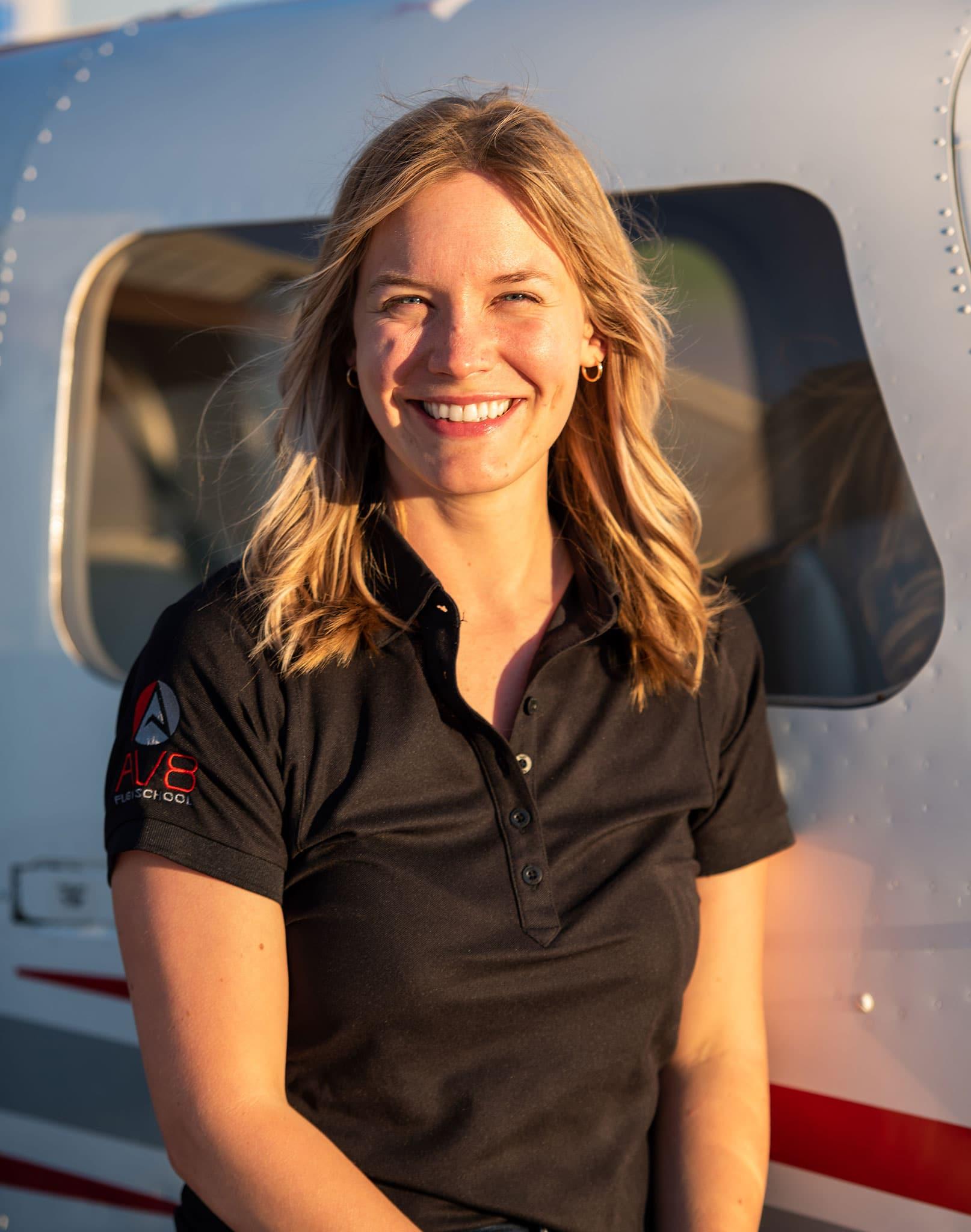 AV8 Flight School Team: Kelsey